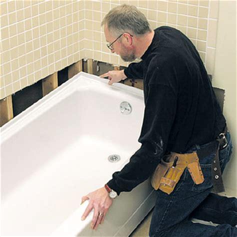 replacing  bathtub   repair  replace  bath tub