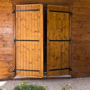 Fabriquer Ses Volets Coulissants Bois : comment fabriquer des volets battants en bois de sapin ~ Melissatoandfro.com Idées de Décoration