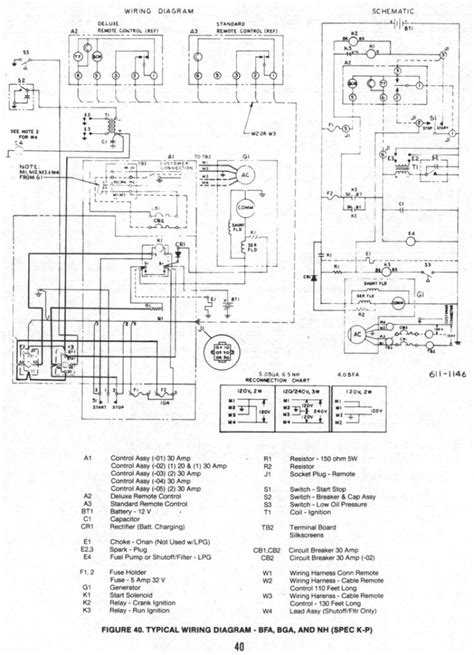 Onan Generator Wiring Diagram For Library