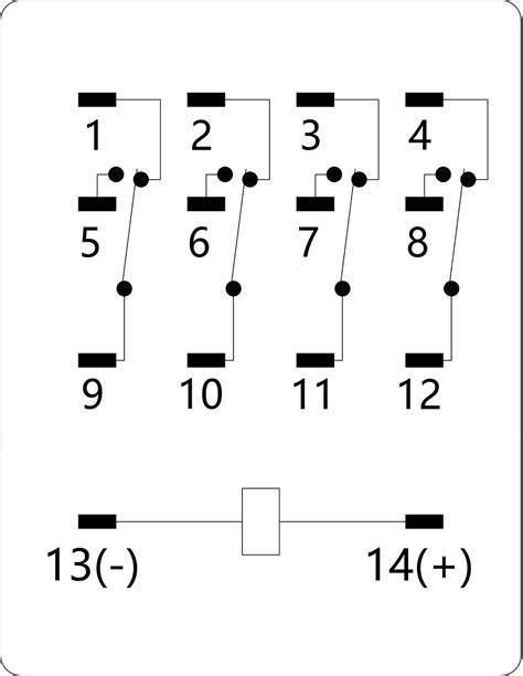 Idec Relay Socket Wiring Diagram by Nnc Clion General Purpose Hh54p Relay 380v My4 5a 14pin