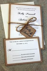 wedding invitations rustic wedding invitations boho wedding With wedding invitations handmade by me