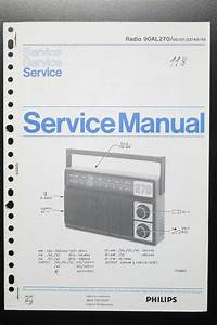 Philips Radio 90al270 Original Service Manual  Guide