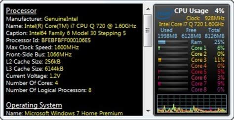 Free Download Program Cpu Temperature Monitor Gadget For