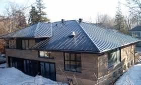 Toiture Metallique Pour Maison : toiture de maison toiture ardoise 60x30 crochets tuile ~ Premium-room.com Idées de Décoration