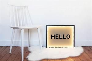 Boite Lumineuse Lettre : diy splendide cadre de lettres lumineuses le meilleur du diy ~ Teatrodelosmanantiales.com Idées de Décoration