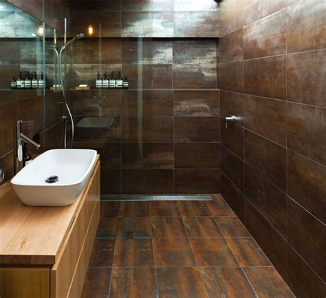 shower eleganza metallica brown