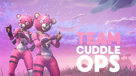 Team Cuddle Ops! New Skin Team Cuddle Leader (fortnite