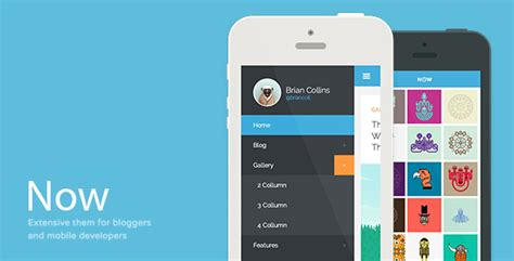 Best Wordpress Mobile Themes And Templates 56pixelscom