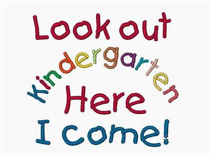 Kindergarten Come Embroidery Shirts August Drawing