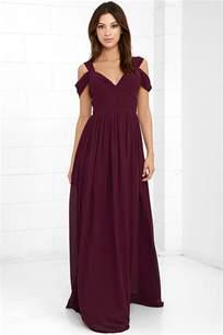burgundy bridesmaid dresses 100 lovely burgundy dress maxi dress bridesmaid dress 89 00