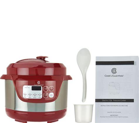 Kitchen Gadgets Essentials by 2 Qt Cook S Essentials Pressure Cooker From Qvc