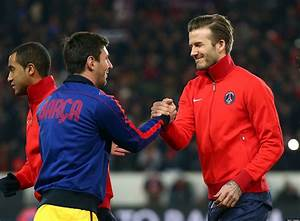 David Beckham Says Lionel Messi Is Better Than Cristiano ...