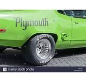 Antique Plymouth Car Logo Symbol Stock Photos &