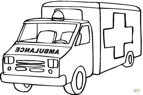 disegno  ambulanza da colorare disegni da colorare