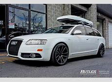Audi A6 with 20in Rotiform SPF Wheels exclusively from