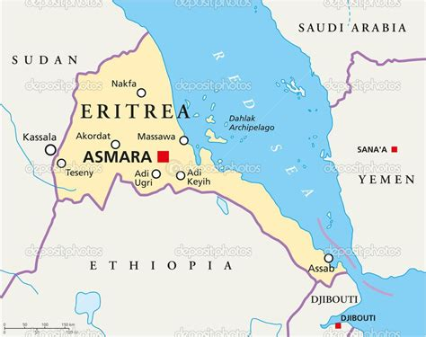Eritrea Is Located In East Africa And Is A Part Of Horn Of