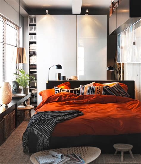 Small Bedroom Layout by Ikea Ideas For Small Appartments