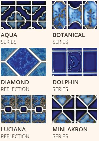 Glass Pool Waterline Tile by Waterline Pool Tile