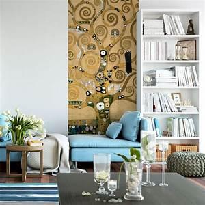 Papier Peint Photo : papier peint photo klimt l 39 arbre wall ~ Melissatoandfro.com Idées de Décoration