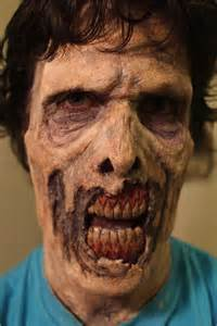 Halloween Zombie Makeup Idea