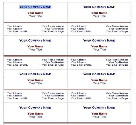 buisness card template word word business card template tristarhomecareinc