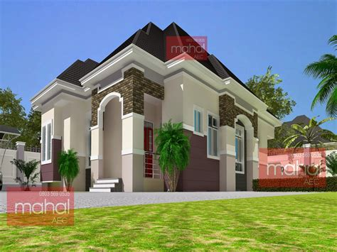 Large Bungalow House Plans Modern Nigeria Bungalow House
