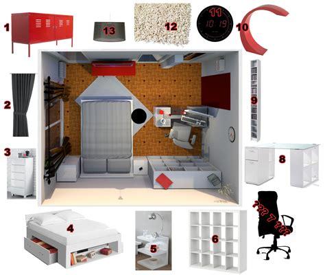 amnagement studio ikea dco studio m exemples with deco studio ikea