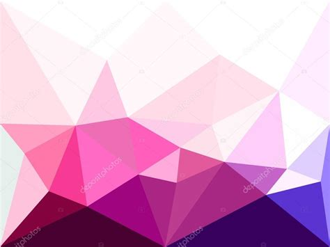 Abstract Pattern Background Pink Colors Vector Stock Vector Low Poly Background Abstract Background In