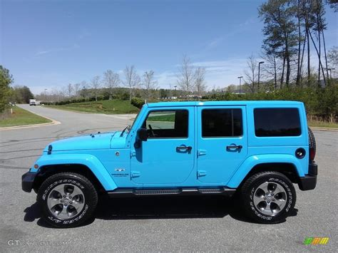 2017 Chief Blue Jeep Wrangler Unlimited Sahara 4x4