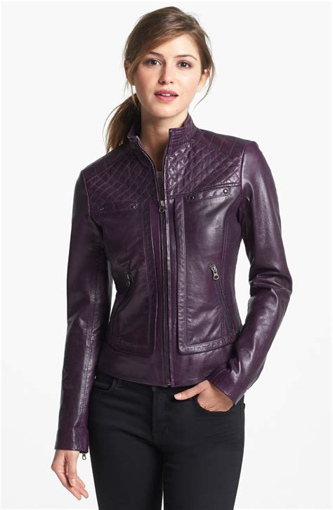 Womenu2019s leather jacket trends spring 2016