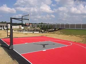 Tennis Court Resurfacing Repair Maine Backyard Basketball