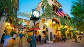 A Walk Up State Street, Santa Barbara, California - YouTube