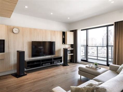 A Modern Apartment Celebrates The Look Of Wood by A Modern Apartment Celebrates The Look Of Wood