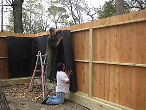 backyard noise barrier soundproofing solutions residential noise photo gallery ideas to block the bullies noise