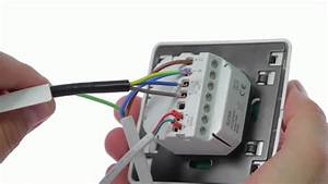 How To Wire Up The Comfortzone Touchscreen Thermostat 8259