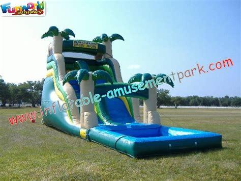 jeu gonflable ext 233 rieur g 233 ant commercial de glissi 232 res d eau pour l adulte enfants jouant pour