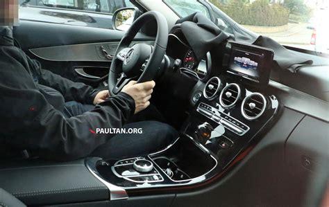 SPIED: W205 Mercedes C-Class facelift – interior seen ...