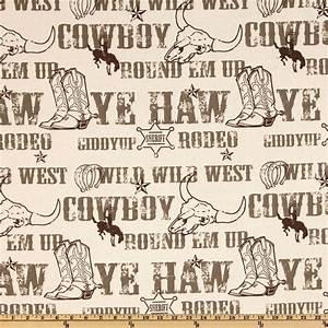 Premier Prints Cowboy Kelp/Natural - Discount Designer