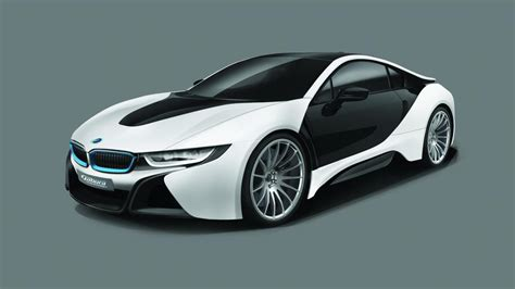 A German tuner has turned the hybrid BMW i8 into a V8 ...