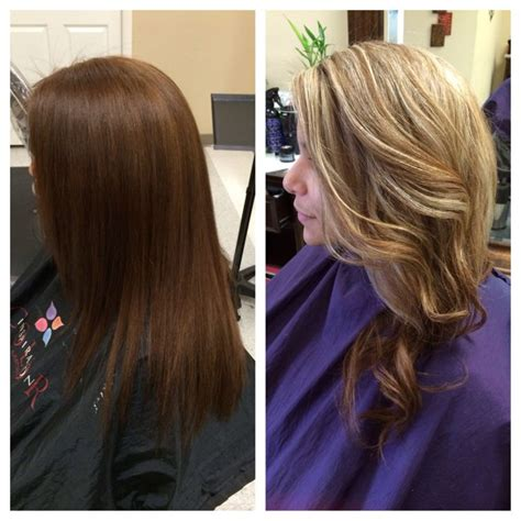 Brown To Hair Before And After Photos by Before And After From Brown Hair To Hair