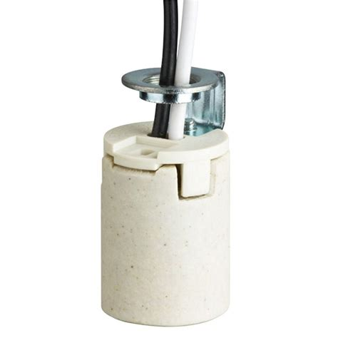porcelain l socket home depot leviton porcelain l holder with pull chain and outlet