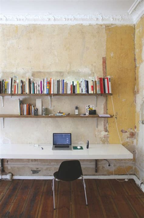 how to make a wall mounted desk 20 diy desks that really work for your home office