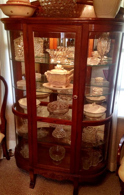 kitchen cabinet china glass curve china cabinet for antiques 2404