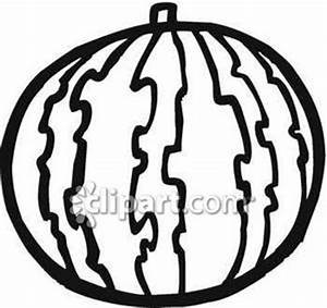 Watermelon Black And White Clipart - Clipart Suggest