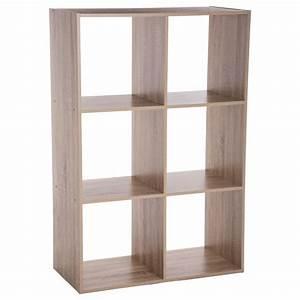 Etagere 6 Cases : tag re 6 cases mix n 39 modul 100cm naturel ~ Teatrodelosmanantiales.com Idées de Décoration