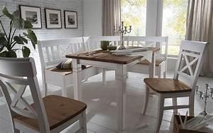 Tisch Und Stühle Kinderzimmer : essgruppe 4teilig eckbank tisch 2 st hle kiefer massiv 2farbig wei lasiert gelaugt ge lt ~ Whattoseeinmadrid.com Haus und Dekorationen