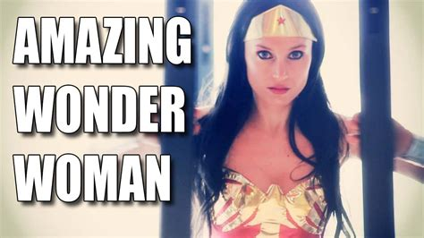 Amazing Italian Wonder Woman Giorgia Cosplay Youtube