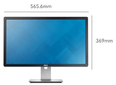 desk depth for 24 monitor dell 24 inch led monitor p2414h price review and buy