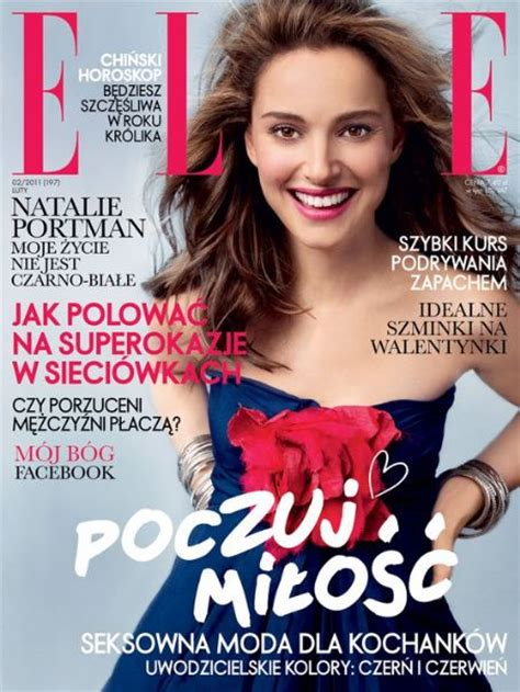 Natalie Portman For Elle Poland February Artamby