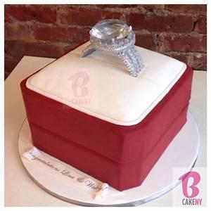 engagement ring cake bcakeny bcakeny cakes pinterest With wedding ring cake